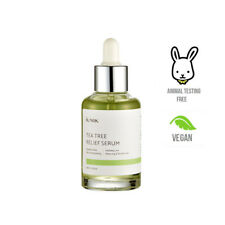 iUnik Tea Tree Relief Serum 50ml Cruelty-Free Korean Skincare - UK SELLER