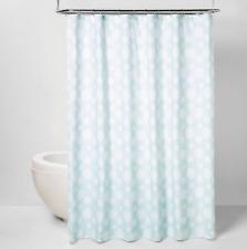 ❄️ NWT Threshold Snowflakes Shower Curtain Light Blue ❄️