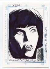 Xena Art & Images Sketch Card by Emir Ribeiro Xena #1