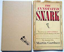Lewis Carrol / Martin Gardner THE ANNOTATED SNARK Holiday illustrations DJ