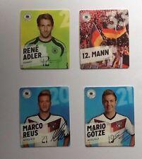 REWE; DFB WM 2014 Sammelkarten, 3 Spieler aussuchen, Neu