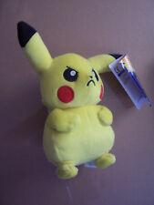 """Tomy - Pokemon - PIKACHU 7"""" PLUSH Soft Toy - New w/Tags"""