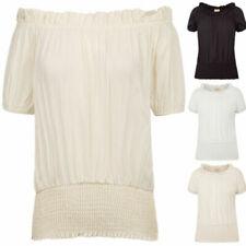 Camisas, camisetas y tops de mujer casuales de seda