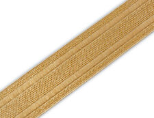 "1"" Wide Gold Military Braid Pilot Galon Uniform Army Navy Vestment. 5 Yards DIY"