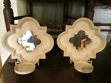 Partylite Wall Hanging Mirrored Candle Holder