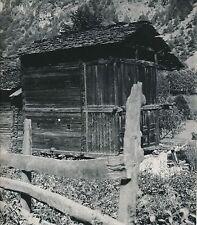 ITALIE  c. 1949 - Chalet  Valtournenche Vallée d'Aoste - Div 11357
