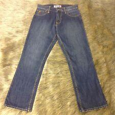 "Quiksilver Quikjean Sz 28 x 30"" Men's Blue Denim Boot Cut Jeans"