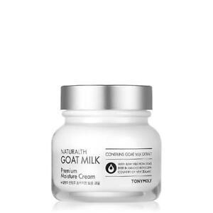 Tonymoly Naturalth Goat Milk Premium Moisture Cream 60ml Moisturizing K-Beauty