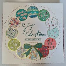 More details for by anthropologie 12 days of christmas canape plates - individual - choose design