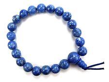 Armband Kugelarmband Edelsteine Natur Lapislazuli Blau Kugel 8mm