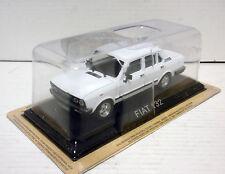 FIAT SEAT 132 - 2000 cc BLANCO WHITE 1/43 DE AGOSTINI