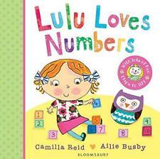 Lulu Loves Numbers, Reid, Camilla, Good Condition Book, ISBN 1408849577
