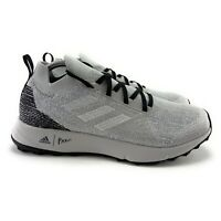 Adidas Women's Terrex Two Parley Grey Two White Glow Blue Trail Running Shoes