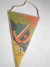 FOOTBALL POLAND pennant flag Wimpel,Górniczy Zwiazkowy Klub Sportowy Gliwice