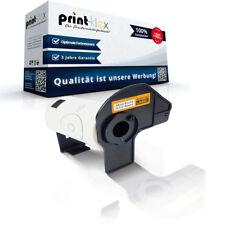 5x kompatible Premium Etiketten Rollen für Brother DK22205 Adress Etiketten-Easy