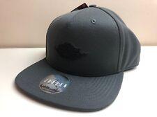 Nike Jordan 1 Retrò Air Wing Logo Cappello Grigio Nero Taglia Unica Adulto  875117 060 6a1aaa26e35a