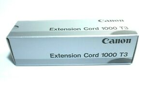Canon Extension Cord 1000 T3. Boxed        **See Description for Compatibility**