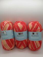 Hayfield Bonus Breeze DK - 0483 - Sunburst - 3 x 100g Balls (300g)