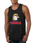 Merica Eagle Mullet 4th of July Patriotic American Pride Mens Graphic Tank Top