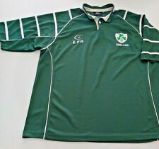 LFR LIVE FOR RUGBY Dark Green Ireland Jersey XXXL Clover Breathable