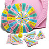 Girl Talk 1990 Replacement Board Game Pieces Board Spinner Cards Truth Dare Pink