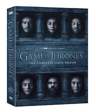 Game of Thrones: The Complete 6th Season (DVD, 2016, 5-Disc Boxset) NEW!