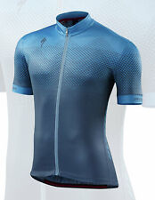 Specialized Men's RBX Comp Short Sleeve Cycling Jersey Geo Dust / Blue - Medium