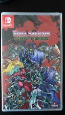 The Ninja Saviors: Return of the Warriors Switch (SLG limited) New & Sealed