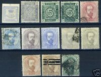 SPAIN SCOTT# 174 176-86 EDIFIL# 115-26 MINT USED