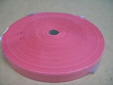 """BINDING TAPE POLYESTER 36mm 1-1/2"""" PINK 100 mtrs"""