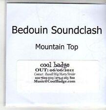 (CO26) Bedouin Soundclash, Mountain Top - 2011 DJ CD