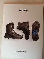 Bates 2014 Product Catalog Booklet / Military Shoes Footwear Law Enforcement