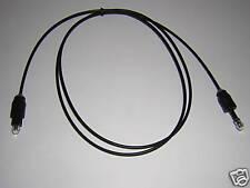 1m Toslink > MD 3,5mm Opti optisches Lichtleiter Kabel