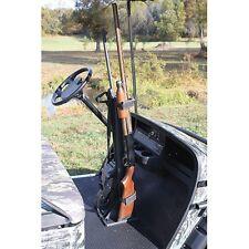 Golf Cart Gun Rack UNIVERSAL FIT Holds 2 Guns EZGO Club Car YAMAHA (GR-101)