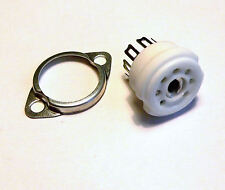 B7G ceramic 7 pin Chassis Socket for Valve Audio Amplifiers, Radios, Radiograms