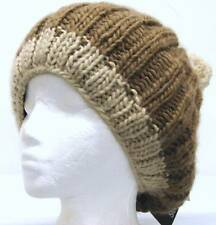 Screamer Tabitha Snow Ski Snowboard Hat Chocolate NEW