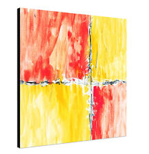 60x60cm PAUL SINUS ART Abstrakte Malerei Leinwandbild Druck Kunst ebay neu xl