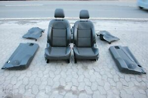 Peugeot 207 Ledersitze Teil Lederausstattung Schwarz Sitzheizung 3-Türer