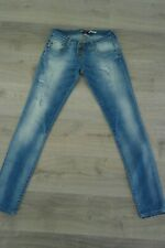 PLEASE Jeans Damen hellblau M/L
