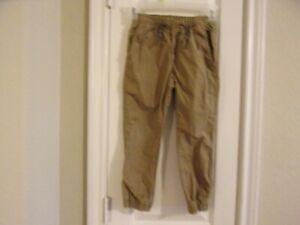 Gap Kids Size S Brown Elastic Waist & Elastic Ankles Pants