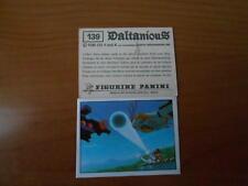 figurina DALTANIOUS n.139- ED. PANINI 1981 completa di velina