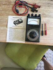 Messgerät antik aus Bakelit mit Anleitung ca.aus dem Jahr 1961