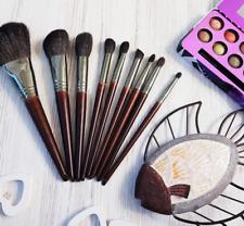 Makeup Brushes Set Natural Goat Hair Professional Kit