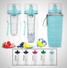 Bevgo Fruit Infuser Water Bottle Large 1 Litre Save Your Money And Hydrate New