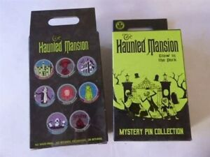Disney Haunted Mansion Glow in the Dark Mystery Pin Collection