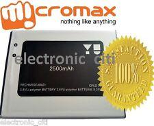 Original Quality Battery For Micromax YU Yureka AQ5510 Mobile with 2500mAh