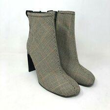 Rag & Bone Ellis Boot Black Camel houndstooth print size: US 8.5 EU 38.5