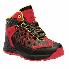 Regatta Kids' Samaris Waterproof Walking Boots Red