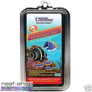 Ocean Nutrition Red Marine Algae 10 Sheets (30 grams) Marine Fish Food Seaweed