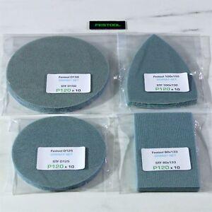 Festool GRANAT NET Sandpaper Abrasives RO ETS EC RTS DTS C 130 400 125 150 ROTEX